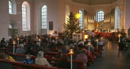 Politicians demand Christmas church pews be saved for tithers