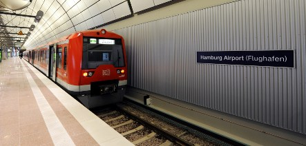 Hamburg inaugurates new airport express train