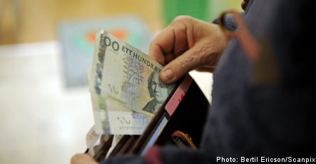 Currency woes hit Swedish wallets