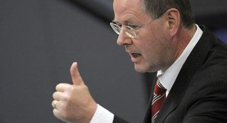 Steinbrück: Germany can overcome crisis