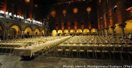 Sweden decks the halls for Nobel festivities