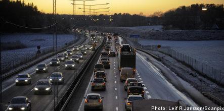 Six injured in motorway collision