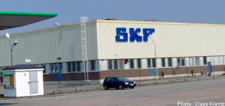 Sweden's SKF to cut 2,500 jobs worldwide