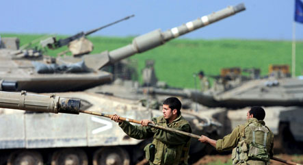 Steinmeier works for Middle East ceasefire