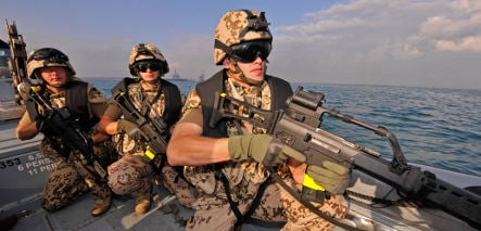 German Navy joins hunt for pirates off Africa