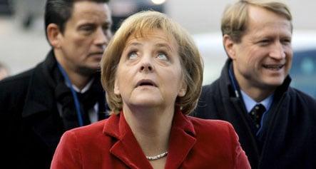 Merkel backs EU stimulus measures