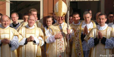 Church furor over 'racist' religious group