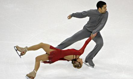 German duo dance to win European figure skating title