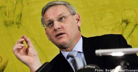 Bildt: isolation of Gaza 'morally indefensible'