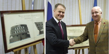 Swedes hand stolen drawings back to Russia