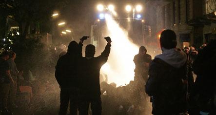 Violence mars Hamburg and Leipzig New Year's celebrations