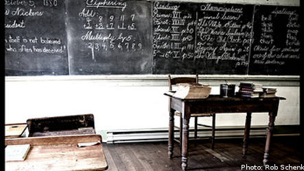 Swedish school pupils falling behind
