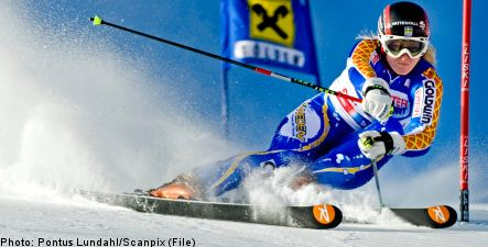 Surprise World Cup win for Swedish alpine skier