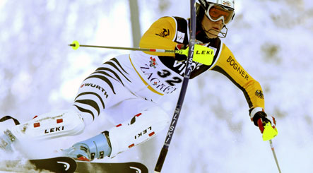 Riesch bags third World Cup slalom win in Zagreb