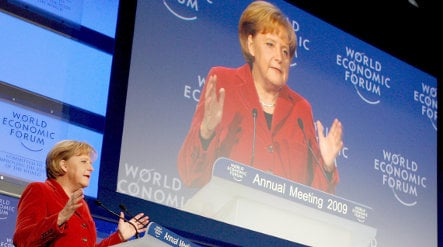 Merkel calls for new global economic order