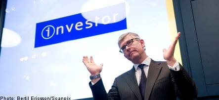 Investor posts 36 billion kronor loss for 2008