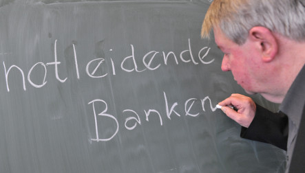 Linguists pick 'needy banks' as panned German phrase of 2008