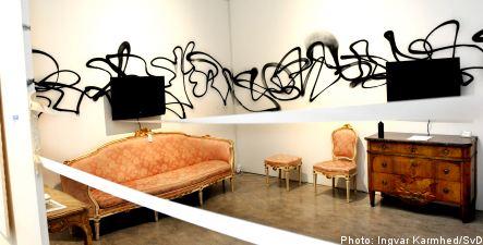 Riksdag to hear from art school head over vandalism video
