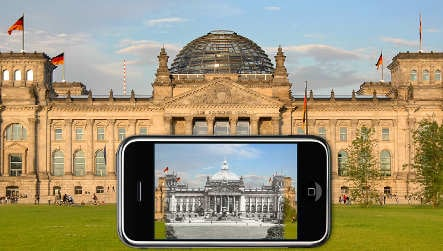 Software turns phone into time machine