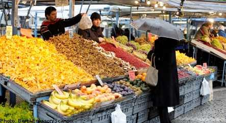 Swedish vegetable prices at 15-year high