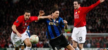 Zlatan scoreless as Inter falls from Champions League