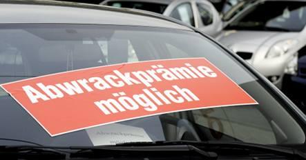 Germans buying cars despite recession