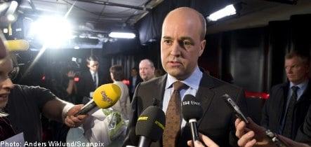 Record high voter confidence for Reinfeldt: poll