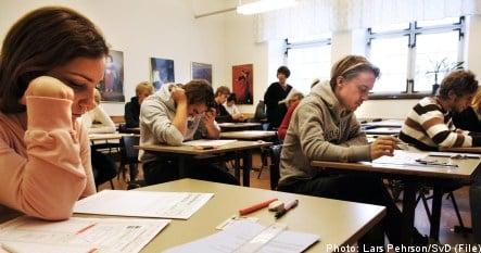 Layoffs hit Sweden's schools