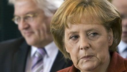 Conservatives attack Merkel's leadership