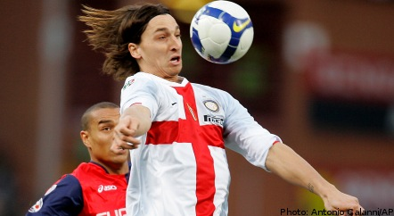 Ibrahimovic on target as Inter increase lead