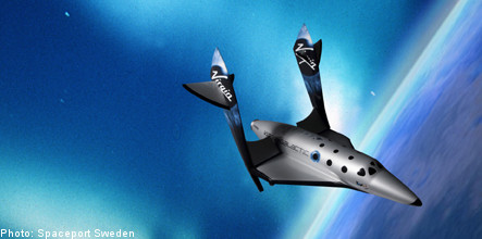 Space tourist flights from Sweden 'by 2012'