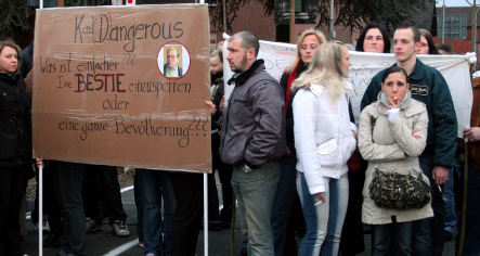 Councillor calls for calm as villagers picket rapist's house
