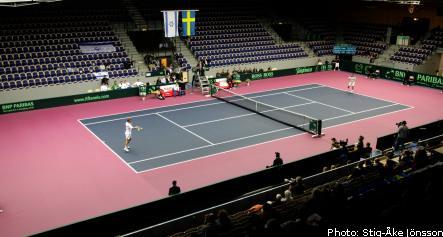 Malmö calm as Davis Cup gets underway