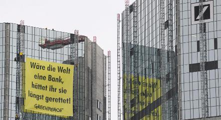 Greenpeace calls for environmental bailout