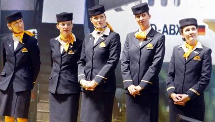Lufthansa cabin crew back wage row strike