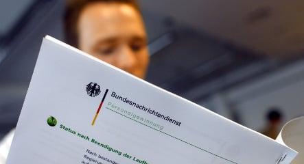 German spy held over affair with translator