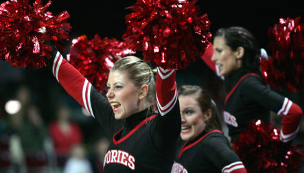 Cheerleaders gather in Bremen for national championship