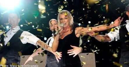 Malena Ernman wins Melodifestivalen
