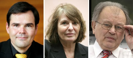 Three East German authors named for National Prize