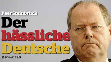 Swiss MP compares Steinbrück to Nazis