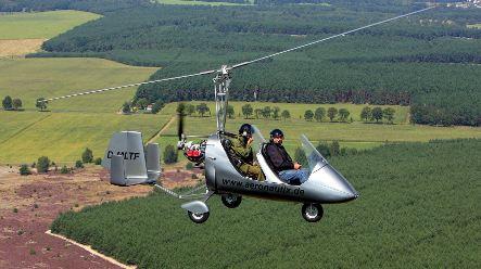 Brandenburg cops might get spy-style gyrocopter