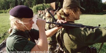 'Make conscription mandatory for women': Social Democrats