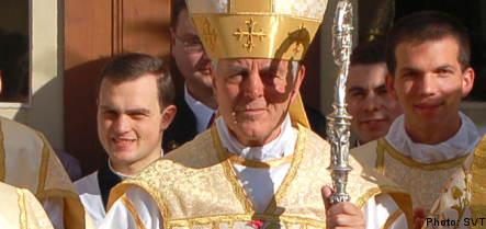 Germany denied help in bishop probe