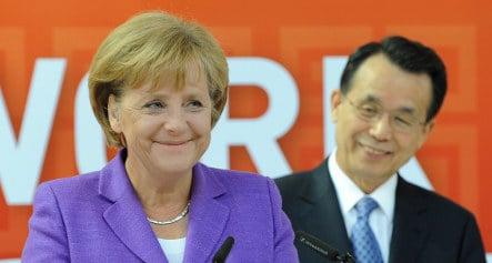 Merkel: economy might be past low point