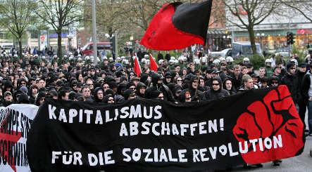 Restlessly civil in Germany