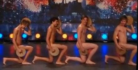 Naked Swedish crispbread dancers go global
