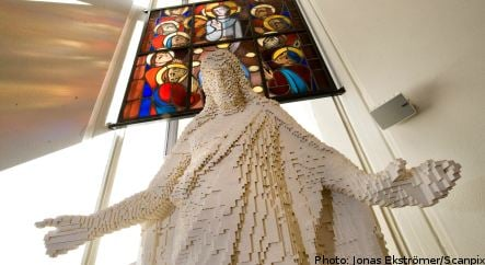 Swedish church unveils Lego Jesus for Easter