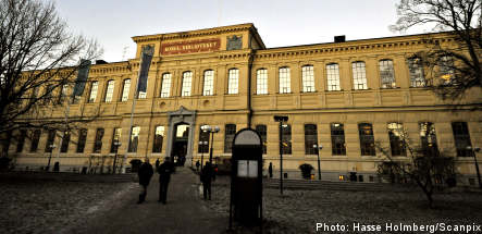 Swedish national library reported for child porn