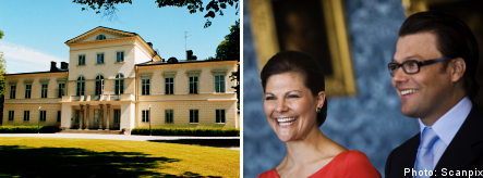 Sweden gifts palace to Victoria and Daniel