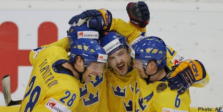 Sweden triumphant in comeback hockey win over US
